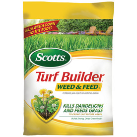 Scotts 15,000-sq ft Turf Builder Plus Weed Control Weed Control Lawn Fertilizer (28-0-4)