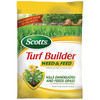 Scotts 15000 sq ft Turf Builder Plus Weed Control All Season Lawn Fertilizer (28-0-4)