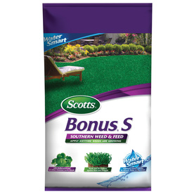 Scotts 10,000-sq ft Bonus S Southern Weed and Feed Water Smart Lawn Fertilizer (29-0-10)