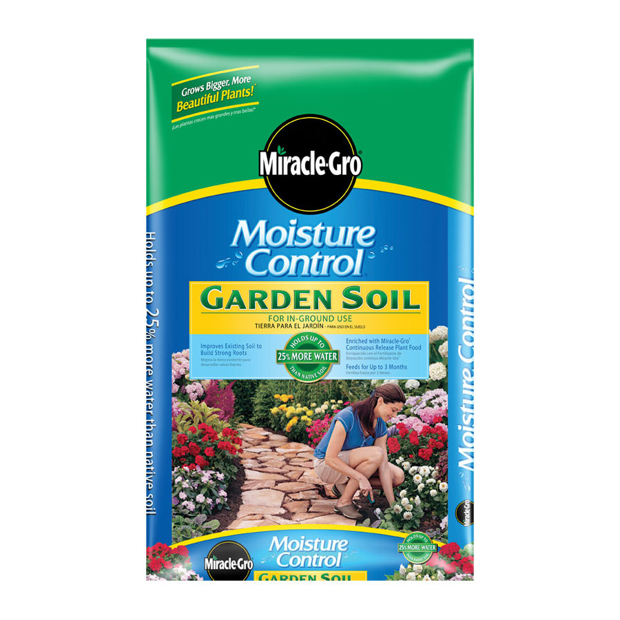 Shop miracle gro 1 5 cu ft flower and vegetable garden for Vegetable garden fertilizer
