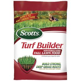 Scotts 15,000-sq ft Turf Builder Winterguard Fall/Winter Lawn Fertilizer (32-0-10)