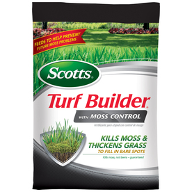 Scotts 10000-sq ft Turf Builder with Moss Control Spring Lawn Fertilizer (23-0-3)