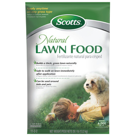 Scotts 4,000-sq ft Lawn Food Organic or Natural Lawn Fertilizer (11-2-2)