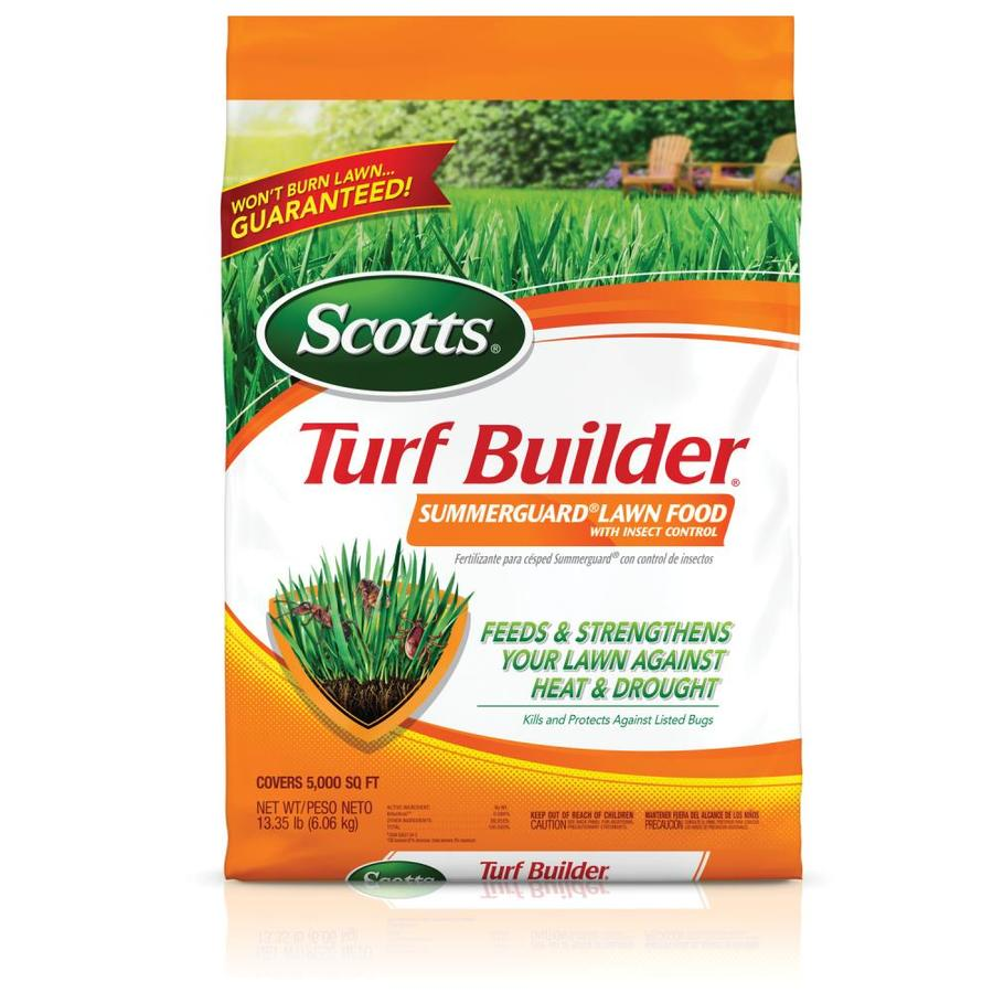 Shop Scotts 5000 Sq Ft Turf Builder With Summerguard