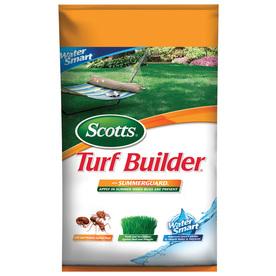 Scotts 15,000-sq ft Turf Builder with Summerguard Water Smart Lawn Fertilizer (20-0-8)