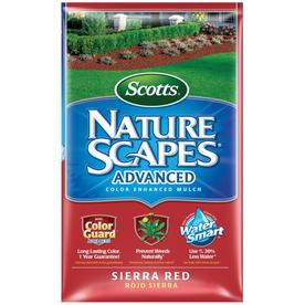 Scotts Nature Scapes 2 cu ft Sierra Red Hardwood Mulch