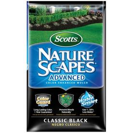 Scotts Nature Scapes 2 cu ft Classic Black Hardwood Mulch