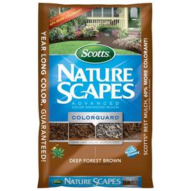Scotts Nature Scapes Advanced 2-cu ft Dark Brown Hardwood Mulch