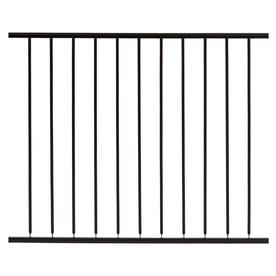 Gilpin Black Steel Decorative Fence Panel