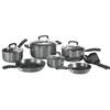 T-fal 12-Piece Signature Aluminum Cookware Set with Lids