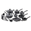 T-fal 18-Piece Initiatives Aluminum Cookware Set with Lids