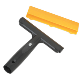 Ettore 6-in Steel Scraper with Plastic Handle