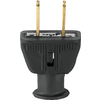 Cooper Wiring Devices 15-Amp 125-Volt Black 2-Wire Plug