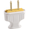 Cooper Wiring Devices 15-Amp 125-Volt White 2-Wire Plug