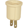 Cooper Wiring Devices 660-Watt Ivory Medium Light Socket Adapter