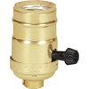 Cooper Wiring Devices 250-Watt Brass Hard-Wired Lamp Socket