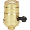Cooper Wiring Devices 250-Watt Brass Hard-Wired Light Socket