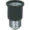 Cooper Wiring Devices 660-Watt Black Medium Light Socket Adapter