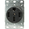 Cooper Wiring Devices 50-Amp Flush-Mount Power Outlet