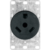 Cooper Wiring Devices 30-Amp Flush-Mount Power Outlet