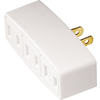 Cooper Wiring Devices Single-to-Triple White 2-Wire Adapter