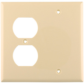 Cooper Wiring Devices 2-Gang IvoryWall Plate