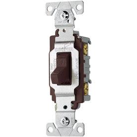 Eaton 20-AmpBrown Light Switch