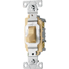 Cooper Wiring Devices 20-Amp Ivory Light Switch