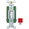 Cooper Wiring Devices 30-Amp Red Double Pole Light Switch