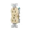 Cooper Wiring Devices 15-Amp Ivory Duplex Electrical Outlet