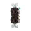 Eaton 125-Volt 20-Amp Brown Duplex Electrical Outlet