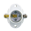 Cooper Wiring Devices 3-Way 660-Watt White Hard-Wired Cleat Socket