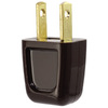 Cooper Wiring Devices 15-Amp 125-Volt brown 2-Wire Plug