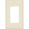 Cooper Wiring Devices 1-Gang Almond GFCI Plastic Wall Plate