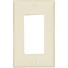 Eaton 1-Gang Almond Single Decorator Wall Plate
