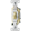 Cooper Wiring Devices 15-Amp Almond Light Switch