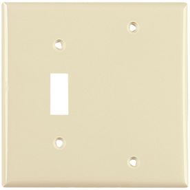 Cooper Wiring Devices 2-Gang Almond Wall Plate