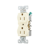 Eaton 125-Volt 15-Amp Duplex Electrical Outlet