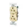 Eaton 125-Volt 20-Amp Almond Duplex Electrical Outlet