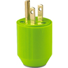 Cooper Wiring Devices 15-Amp 125-Volt Green 3-Wire Grounding Plug
