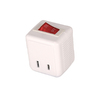 Cooper Wiring Devices Single-to-Single White 2-Wire Adapter
