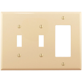 Cooper Wiring Devices 3-Gang Wall Plate