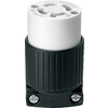 Cooper Wiring Devices 20-Amp 250-Volt Black 4-Wire Connector