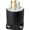 Cooper Wiring Devices 20-Amp 250-Volt Black 4-Wire Plug