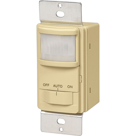 Cooper Wiring Devices 15-Amp Ivory Occupancy Decorator Light Switch