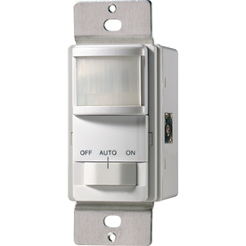 Cooper Wiring Devices 15-Amp White 3-Way Occupancy Decorator Light Switch