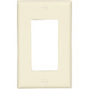 Cooper Wiring Devices 1-Gang Light Almond GFCI Plastic Wall Plate