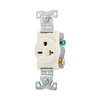 Cooper Wiring Devices 20-Amp Light Almond Single Electrical Outlet