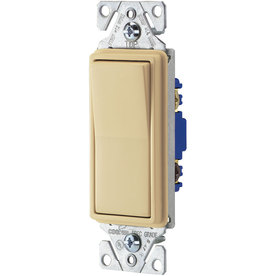 Cooper Wiring Devices 15-Amp Ivory 3-Way Decorator Light Switch