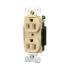 Cooper Wiring Devices 125-Volt 15-Amp Ivory Duplex Electrical Outlet